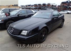 Parting Out Stock# 7538GR 2000 Mercedes Sl500
