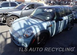 Parting Out Stock# 8273BL 2011 Mini Cooper Minicoope