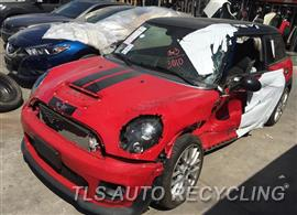 Parting Out Stock# 9582YL 2013 Mini Cooper Minicoope