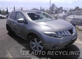 Used Nissan MURANO Parts