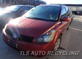 Used Nissan QUEST Parts