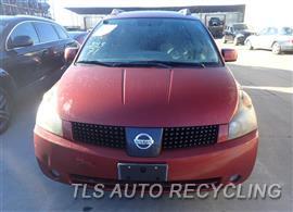 2005 Nissan QUEST Parts Stock# 7107PR