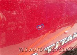 2005 Nissan TITAN Parts Stock# 8123GR