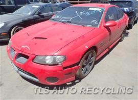 Parting Out Stock# 8265GY 2004 Chevrolet Gto