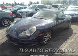 Parting Out Stock# 00403W 2003 Porsche Boxster S