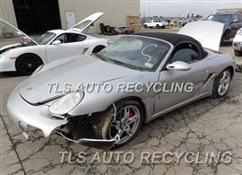 2005 Porsche Boxster S Parts Stock# 4118PR