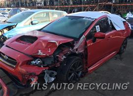 Parting Out Stock# 9015YL 2016 Subaru Wrx