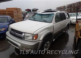 2001 Toyota 4 Runner Parts Stock# 6015RD