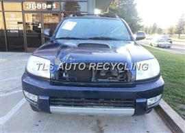2003 Toyota 4 Runner Parts Stock# 4004BL