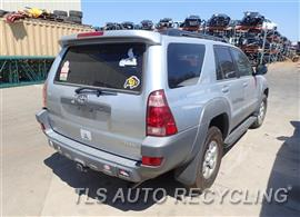 2003 Toyota 4 Runner Parts Stock# 7267OR