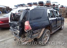 2004 Toyota 4 Runner Parts Stock# 7599GY