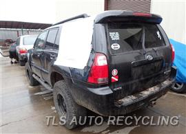 2006 Toyota 4 Runner Parts Stock# 7125PR