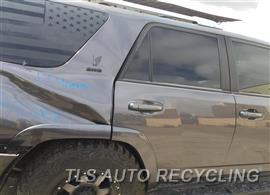 Parting Out Stock# 9323BK 2017 Toyota 4 Runner