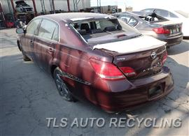 parting out 2007 toyota avalon stock 6221bk tls auto. Black Bedroom Furniture Sets. Home Design Ideas