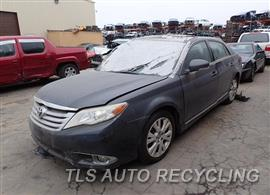 Parting Out Stock# 7532PR 2011 Toyota Avalon