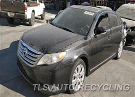 Parting Out Stock# 9725OR 2011 Toyota Avalon