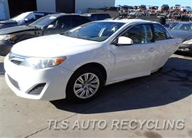 Parting Out Stock# 7567YL 2012 Toyota Camry