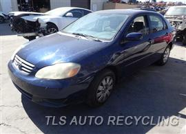 2003 Toyota Corolla Car for Parts