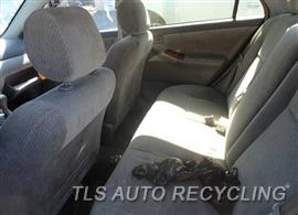2003 Toyota Corolla Parts Stock# 6212BK