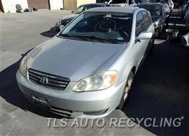 Parting Out Stock# 7318RD 2004 Toyota Corolla