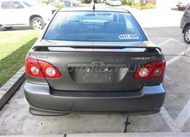 2005 Toyota Corolla Parts Stock# 3026PR