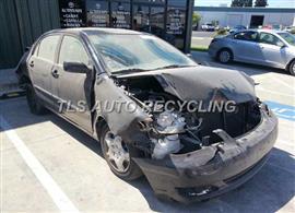 2006 Toyota Corolla Parts Stock# 3085BR