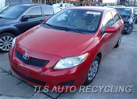 2009 Toyota Corolla Car for Parts
