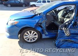 2009 Toyota Corolla Parts Stock# 7566OR
