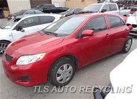 Parting Out Stock# 7423YL 2010 Toyota Corolla