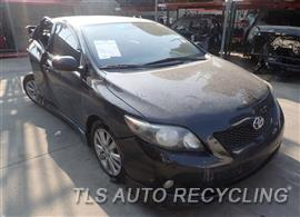 2010 Toyota Corolla Car for Parts