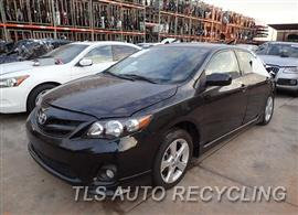 Parting Out Stock# 7553BL 2013 Toyota Corolla