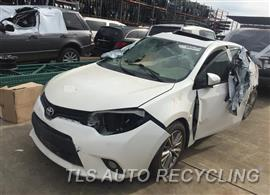 Parting Out Stock# 9074GY 2014 Toyota Corolla