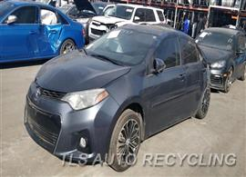 Parting Out Stock# 00112R 2015 Toyota Corolla