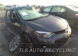 Parting Out Stock# 00352G 2015 Toyota Corolla