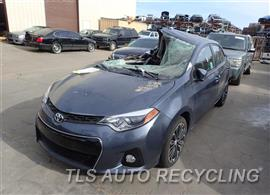2016 Toyota Corolla Car for Parts