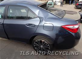 2016 Toyota Corolla Parts Stock# 8307BK
