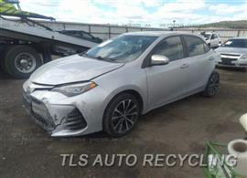 2017 Toyota Corolla Parts Stock# 00381B