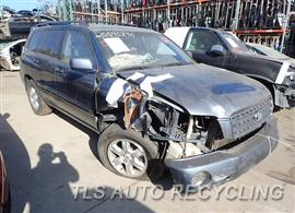 2003 Toyota Highlander Parts Stock# 7620OR