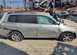Parting Out Stock# 10721R 2008 Toyota Highlandr