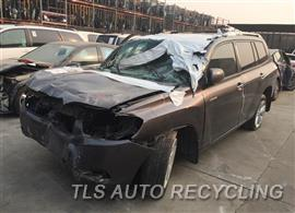 Parting Out Stock# 8634GY 2008 Toyota Highlandr