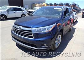 Parting Out Stock# 7204OR 2014 Toyota Highlandr