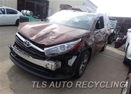 Parting Out Stock# 8129BL 2015 Toyota Highlandr