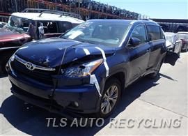 Parting Out Stock# 8360PR 2015 Toyota Highlandr