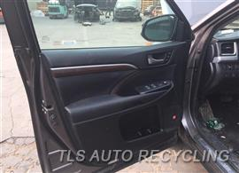 Parting Out Stock# 8640BK 2016 Toyota Highlandr