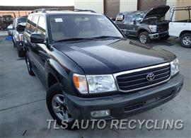 Parting Out Stock# 6482BK 1999 Toyota Landcruis