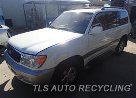 Parting Out Stock# 8114GR 2001 Toyota Landcruis