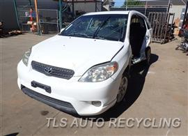 2005 Toyota Matrix Parts Stock# 7241PR