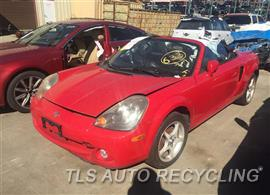 Parting Out Stock# 9135RD 2004 Toyota Mr2