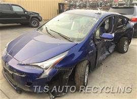 Parting Out Stock# 8649BK 2017 Toyota Prius