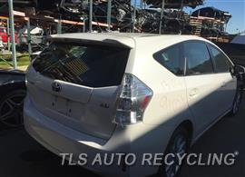Parting Out Stock# 9105YL 2013 Toyota Prius V